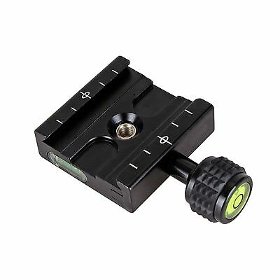 UK QR50 Clamp For Quick Release Plate Compatible Arca SWISS Tripod Ball Adapter