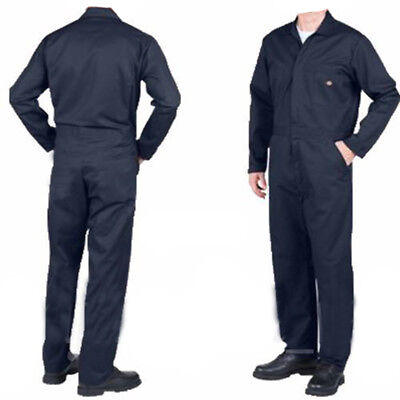 Mens Light weight 200Gsm Navy Boiler suit Coverall Overalls for Student Garages