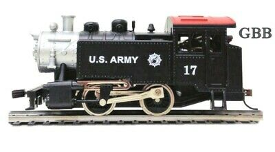 HO Scale US ARMY 0-4-0 Tank Locomotive Model Power New in Box 96513
