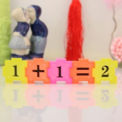 Early Learning Arithmetic Developmental Toy Numbers Gift Jigsaw Baby Math