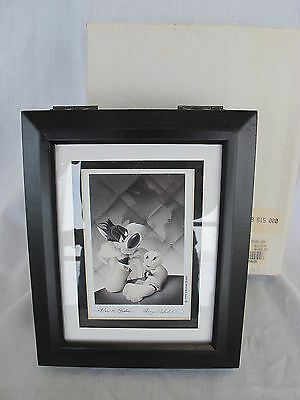 Warner Brothers Mini Cel Box Portrait Series Character Sterling Silver Watch NEW