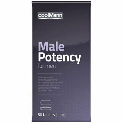 CoolMann Male Potency Tabs (60 tabs) Spanish Fly Delay Spray Cobeco Strong
