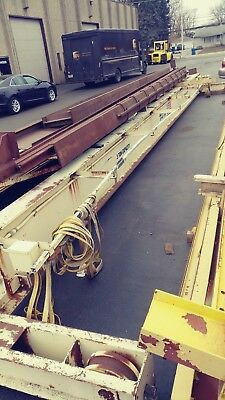 37' Centers - Dwight Foote 3 Ton Overhead Bridge Crane - 68' of Runway W/Busbar