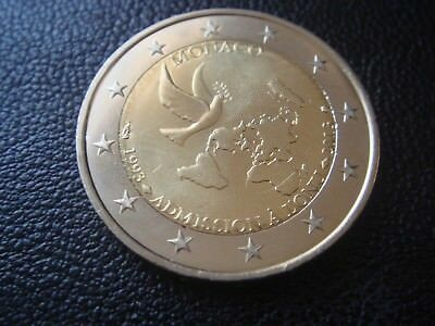 Monaco 2 euro coin 2013 UNC The 20th anniversary of the ONU joining