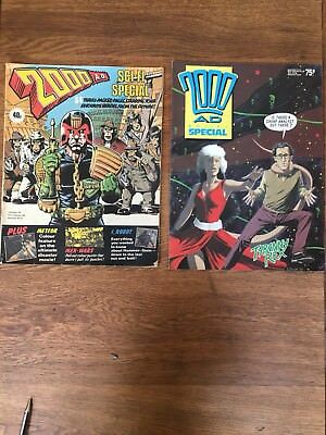 2000AD SPECIAL SCI-FI 1979 Bolland and 1988 S. Dillion Comics