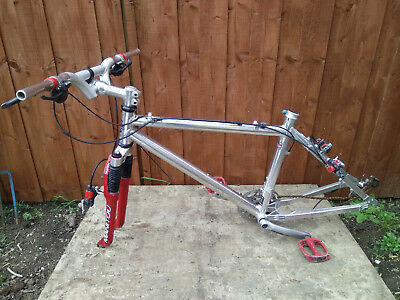 MANITOU BIKE FRAME and Fork Hard Tail HT960 Retro - £149.30 ...