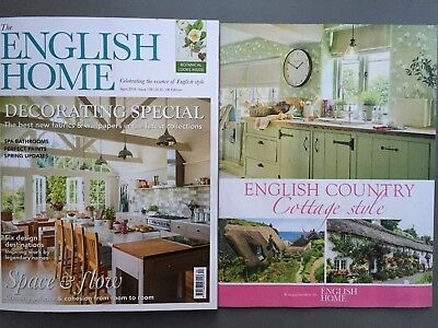 The English Home Magazine Issue 158 April 4/2018 Decorating Special