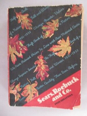 Sears CATALOG - Fall/Winter, 1931-1932 ~~ 1,168 pages