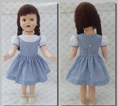 "Dress and panties for a 28"" Pedigree Brighton Belle doll"