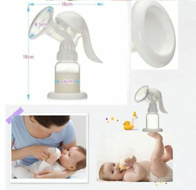 Manual Breast Pump Lever Action High Suction - UK Supplier