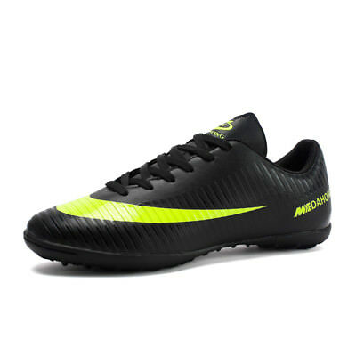 e87a6dbceb8 Kid's Men's Cleats Soccer Shoes Football Athletic Sneakers Shoes Outdoor  Soccer