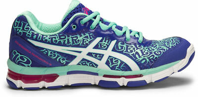 SPECIAL $$$ Asics Gel Netburner Professional 12 Womens Netball Shoes (B) (4501)