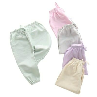 Infant Kids Baby Bamboo Cotton Pants Children Girls Boys Summer Casual Trousers