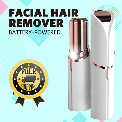 Women Flawless Finishing Touch Painless Hair Remover Face Facial Hair Removal AU