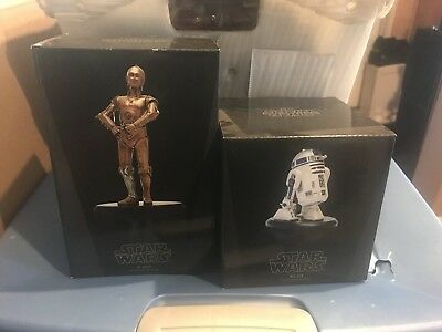 Attakus Star Wars C-3PO And R2-D2 Statues