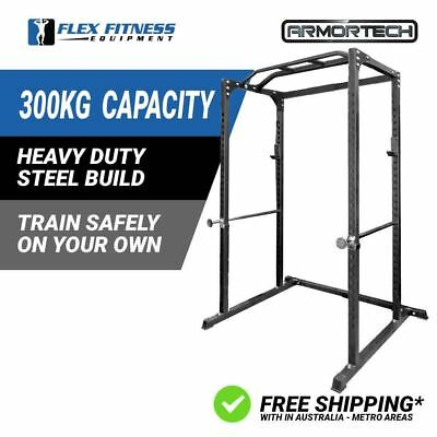 Power Rack Squat Deadlift HD Lift Cage Stand Cross Fit Pull Up