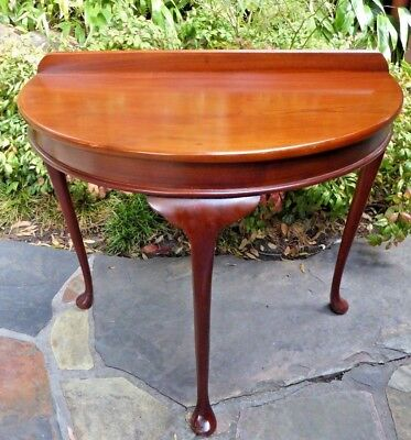 AUSTRALIAN Vintage Cedar 1950'S  HALL TABLE SOLID CEDAR VERY SIMPLE DESIGN USED
