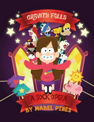 "022 Gravity Falls - Disney Mabel Pines USA Cartoons 14""x18"" Poster"