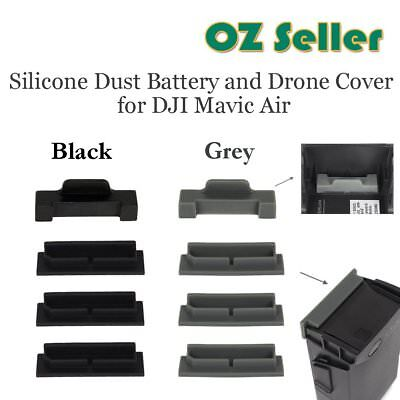 Silicone Battery&Power Terminal Anti-dust Case Cover Cap Plug for DJI Mavic Air