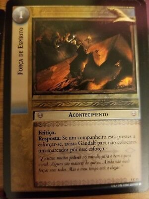 LOTR CCG TCG Fellowship Of The Ring Set PORTUGESE P/'s