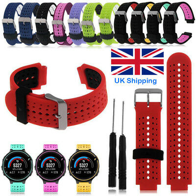 Silicone Wrist Watch Band Belt Strap For Garmin Forerunner 220 230 235 620 630..