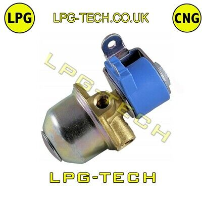 LOVATO AUTOGAS LPG SHUT OFF VALVE 12v 6MM in/out