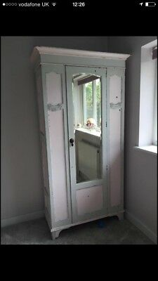 Beautiful Shabby Chic Antique Wardrobe