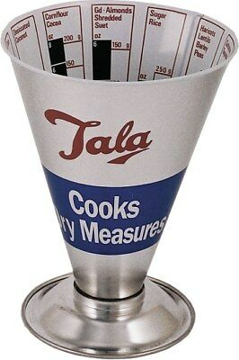 Tala Retro Cooks Dry Measure Traditional ingredients Food Cooking Measuring Cup