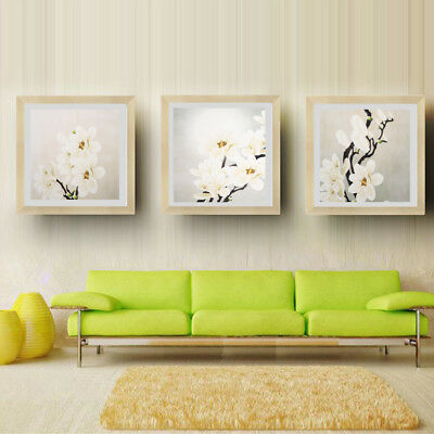 Abstract Oil Painting Modern Plum Blossom Artwork Floral Canvas Wall Art 13-15''