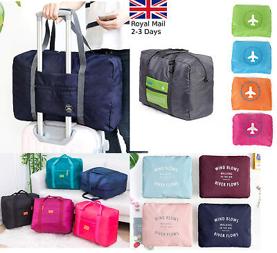 Large Folding Waterproof Light Portable Travel Shoulder Handbag Tote Shopper Bag