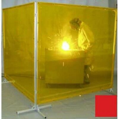 NEW! Goff's Welding Screen - 6'W x 8'H - Red!!
