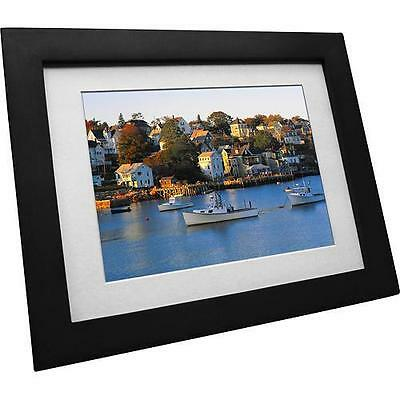 "Vistaquest VQ0801w 8"" Digital Picture Frame - Black - In Retail Packaging VG"