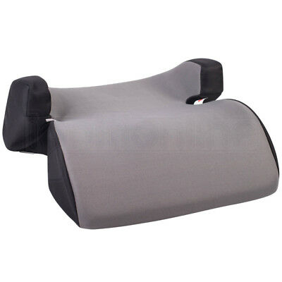 Grey Polystyrene Car Booster Seat Chair Kid Childs 3-12yr Group 2/3 Side Support