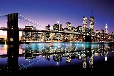 new York Brooklyn Bridge : Colour - Maxi Poster 61cm x 91.5cm new and sealed