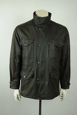 Barbour A342 Sapper waxed jacket M OLIVE