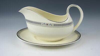 Royal Doulton MELISSA Gravy Boat w/ Under Plate EXCELLENT