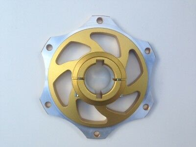 Gold Anodised 30mm Go Kart Sprocket Carrier-Twin Bolt Fixing-BEST PRICE on EBAY