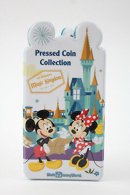 Disney Parks Mickey Mouse and Friends Pressed Coin Penny Collection Book Holder