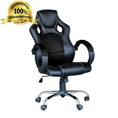 Racing Gaming Desk Chair Computer Swivel Executive Office Ergonomic with...
