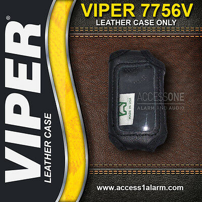 Viper 7756V 2-Way LCD Remote Control Protective LEATHER CASE ONLY For The 4606V