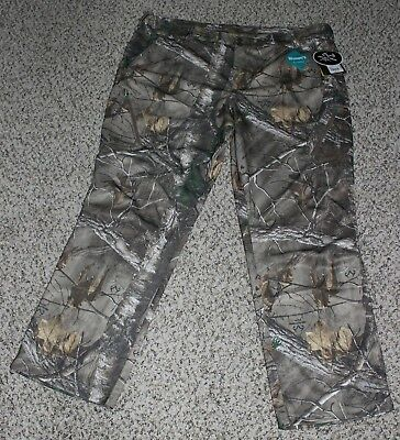 12008f9f6735c Cabela's OutFitHER SuperTec Lightweight Pants Realtree Camo Hunting XL 2XL  Women