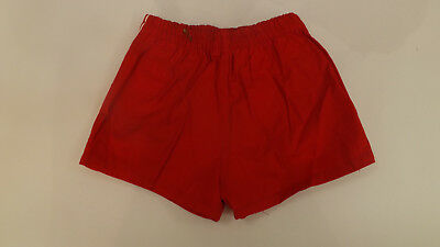 Vtg NOS Boys sz 6 Red Swimsuit Bathing Suit Swim Wear 40-45 lb