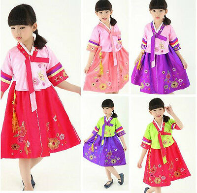 360d7f854 KOREAN TRADITIONAL CLOTHING Kids Hanbok Girl Formal Suit Costume ...