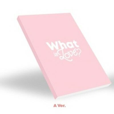 Twice-[What Is Love?]5th Mini Album A Ver CD+Book+Card+Sticker+etc+PreOrder+Gift