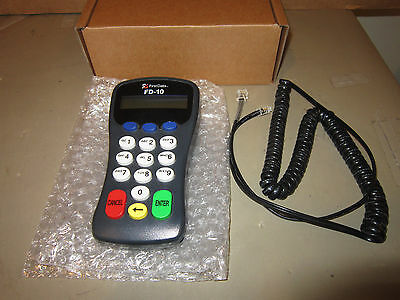 First Data FD-10 ATM Credit Debit Card Pin Pad w/ Cable Boxed Nice