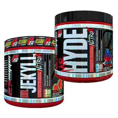 ProSupps Mr Hyde + Dr Jekyll NitroX Pre Workout Pump Energy Stack Nitric Oxide