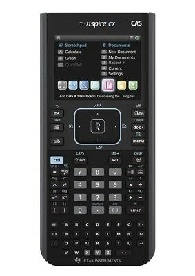 Texas Instruments TI-Nspire CX CAS Calculator Touchpad Handheld Math Science