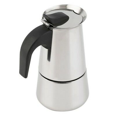 6 Cup Percolator Stove Top Coffee Maker Moka Espresso Latte Stainless Pot Gl