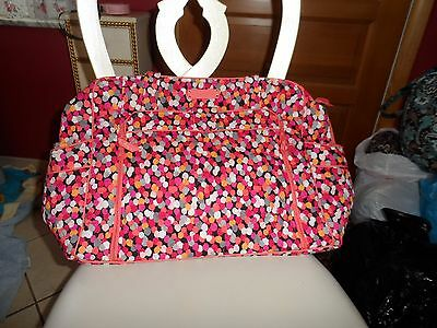 Vera Bradley large stroll around baby tote bag in Pixie Confetti
