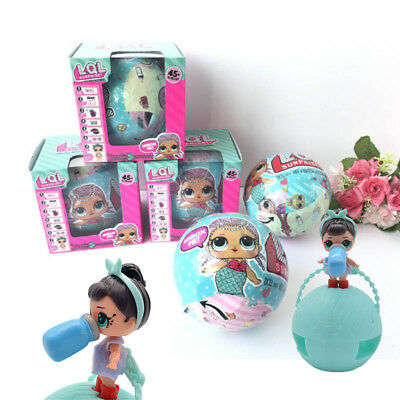 Egg Doll Magic Toys  Ball Surprise Kids Novelty Doll Hot LOL Removable Funny